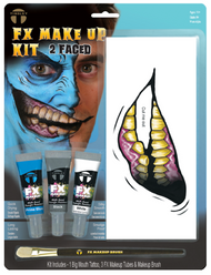 Adults Two Faced Make Up Kit