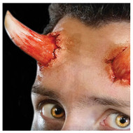 3D Devil Horns Prosthetic Transfer