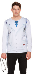 Mens ER Doctor Fancy Dress Top