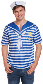 Mens Sailor Fancy Dress Top