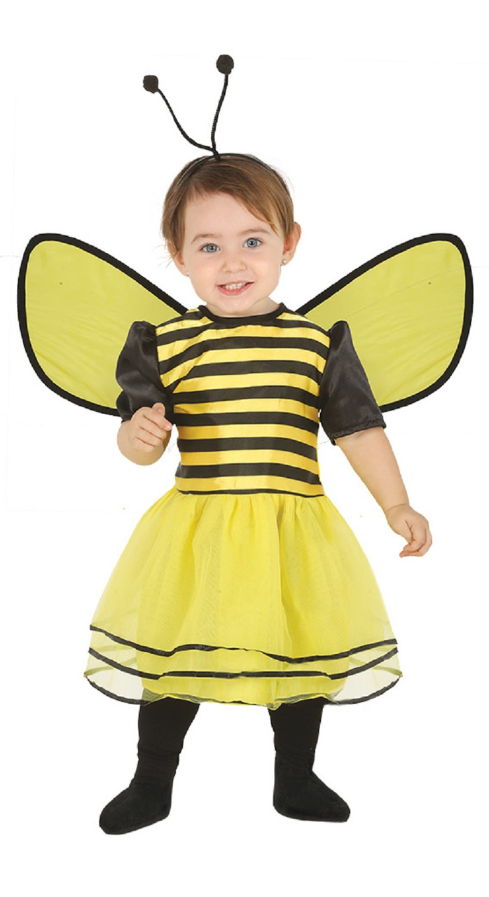6c828e8e1265 Baby Girls Cute Bee Fancy Dress Costume - Fancy Me Limited