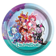 Girls Enchantimals Party Plates