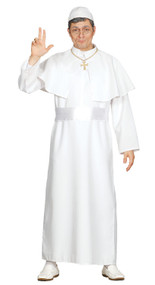 Mens Pope Fancy Dress Costume 1