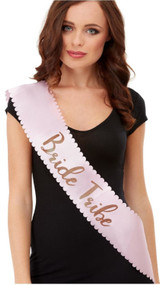 Ladies Bride Tribe Sash