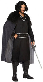 Mens Dark King Fancy Dress Costume