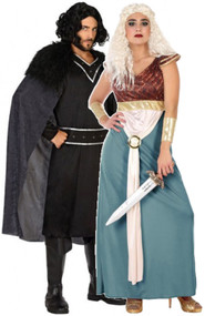 Couples Medieval Fancy Dress Costumes 1