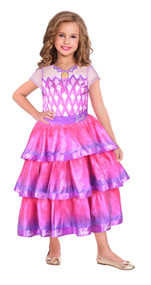 Girls Gem Ballgown Barbie Fancy Dress Costume