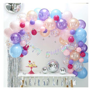 Pastel Balloon Arch Decoration