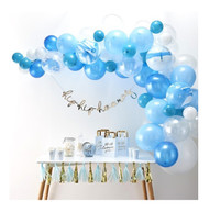 Blue Balloon Arch Decoration