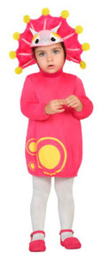 Baby Girls Pink Dinosaur Fancy Dress Costume