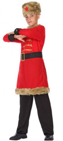 Boys Russian Fancy Dress Costume