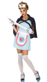 Ladies Nurse Fancy Dress Costume 1