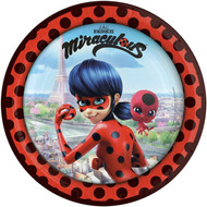 Miraculous Party Plates
