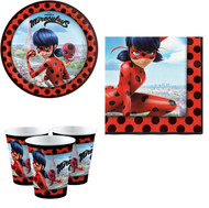 Miraculous Party Tableware Set
