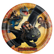 How To Train Your Dragon Plates