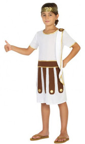 Boys Roman Soldier Fancy Dress Costume 1