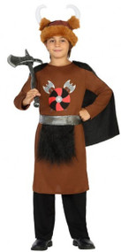 Boys Viking Fancy Dress Costume 1