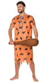 Mens 60s Caveman Fancy Dress Costume