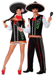 Couples Mexican Fancy Dress Costumes 2
