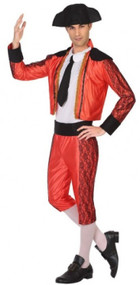 Mens Bullfighter Fancy Dress Costume