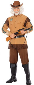 Mens  Explorer Fancy Dress Costume