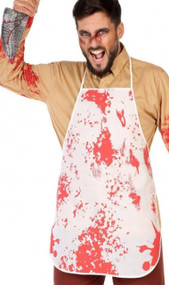 Adults Blood Stained Fancy Dress Apron
