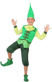 Boys Cheeky Elf Fancy Dress Costume