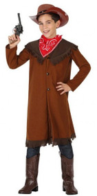 Boys Wild West Sheriff Fancy Dress Costume 1