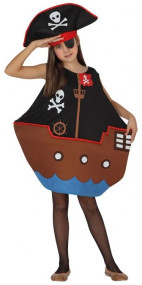 Child's Pirate Ship Fancy Dress Costume