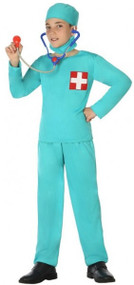 Child's Doctor's Surgeon Fancy Dress Costume