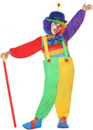 Child's Cool Clown Fancy Dress Costume