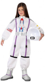 Child's Space Astronaut Fancy Dress Costume