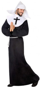 Mens Cheeky Nun Fancy Dress Costume