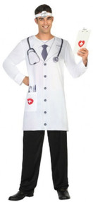 Mens Hospital Doctor Fancy Dress Costume