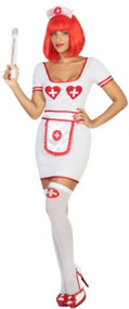 Ladies Hospital Nurse Fancy Dress Costume