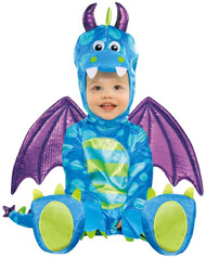 Babies Little Dragon Fancy Dress Costume