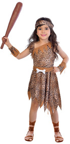 Girls Cavegirl Cutie Fancy Dress Cotume