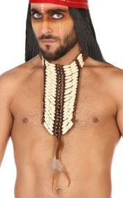 Mens Native Indian Necklace  Accessory