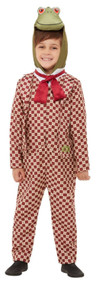 Boys Wind In The Willows Toad Fancy Dress Costume