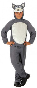 Boys Big Bad Wolf Fancy Dress Costume