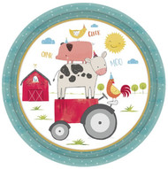 Barnyard Animals Party Plates