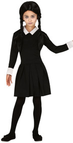 Girls Creepy TV Daughter Fancy Dress Costume