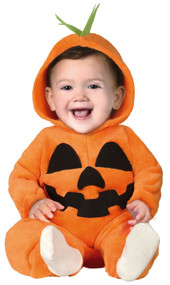 Babies Cute Pumpkin Fancy Dress Costume