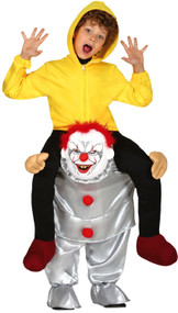 Childs Let Me Go Scary Clown Fancy Dress Costume