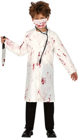 Childs Deathly Doctor Fancy Dress Costume