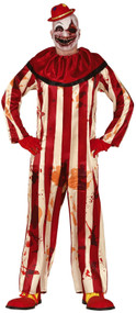 Mens Bloody Horror Clown Fancy Dress Costume