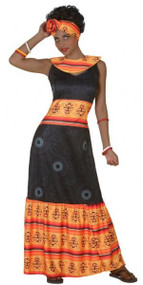 Ladies African Fancy Dress Costume