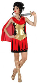 Ladies Sexy Roman Fancy Dress Costume