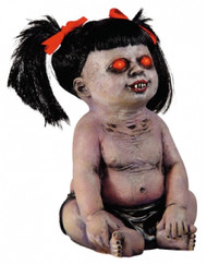 Halloween Animated Undead Baby Prop