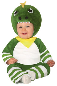 Baby Green Dino Fancy Dress Costume